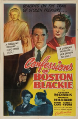 Confessions of Boston Blackie 1941 DVD - Chester Morris / Harriet Hilliard